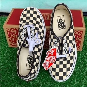 Vans Authentic golden cost black/white checkeredWm